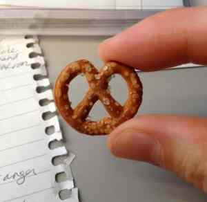 tiny pretzel