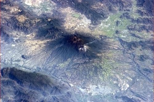 Mexican Colima volcano